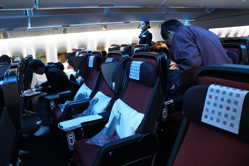 [JL33]日本航空プレミアムエコノミー 羽田~バンコク 搭乗記