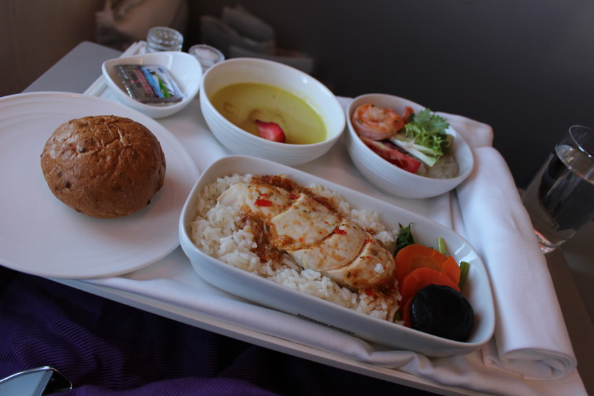[MH783]マレーシア航空ビジネスクラス バンコク~クアラルンプール 搭乗記