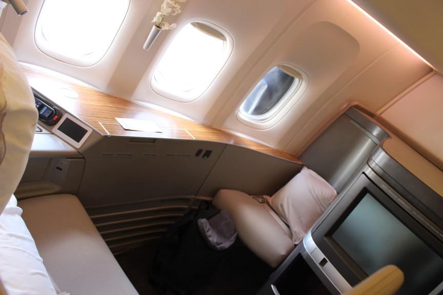 [CX548]香港~羽田 キャセイパシフィック航空ファーストクラス 搭乗記