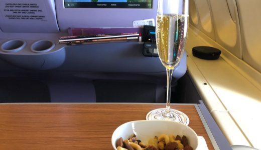 [TG660]タイ国際航空ビジネスクラス バンコク~羽田 搭乗記
