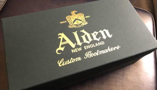 オールデンの革靴をアメリカで買ってみた